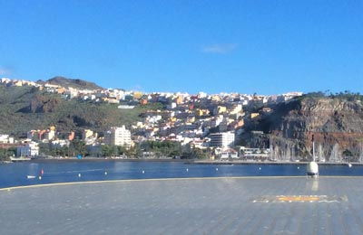 Lautat San Sebastien de La Gomera